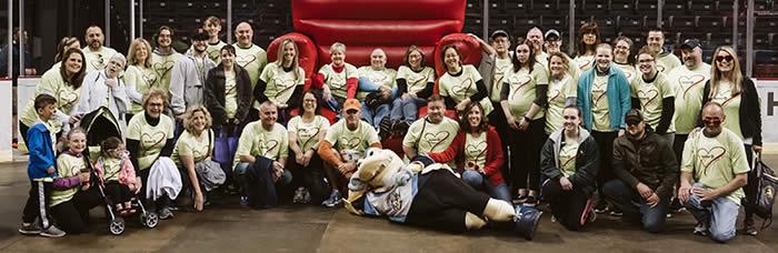 The 2019 American Heart Association Heart Walk and 88 Dunbar Employees