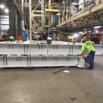 Preparing Steel Lift