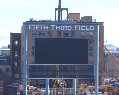 Making Room for a Great View of Fifth-Third Field