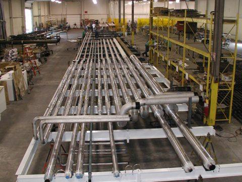 Process and Utility Pipe Bridge