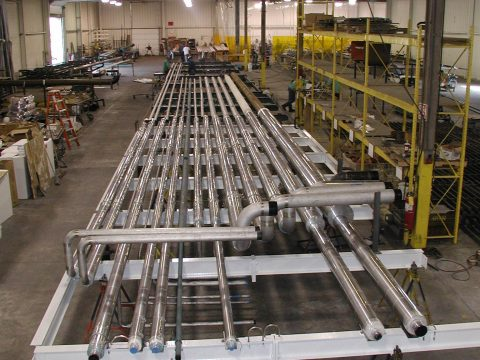 Brewery Process and Utility Piping