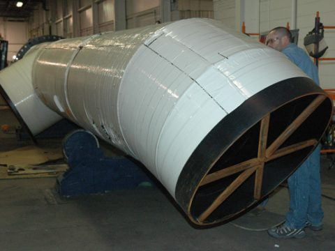 Underground Cooling Water Pipe Fabrication
