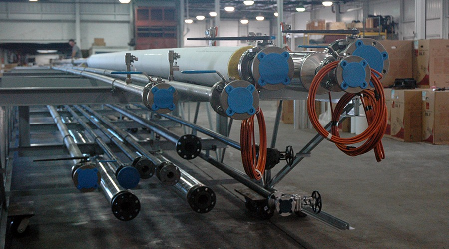 Chemical Company Pipe Bridge