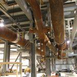 High-Pressure Steam Piping