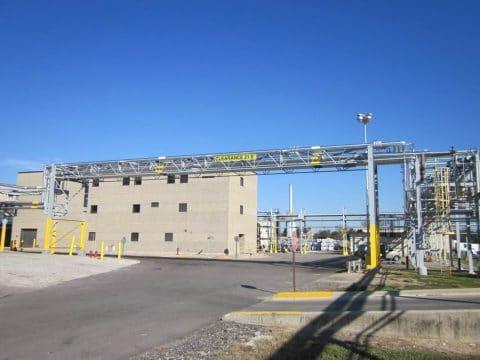 Chemical Company Utility Piping Bridge