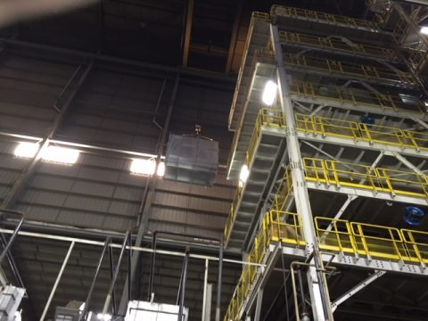 Furnace Equipment Lift