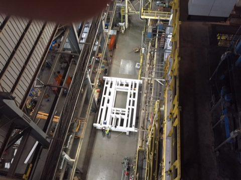 Steel Platform Modifications