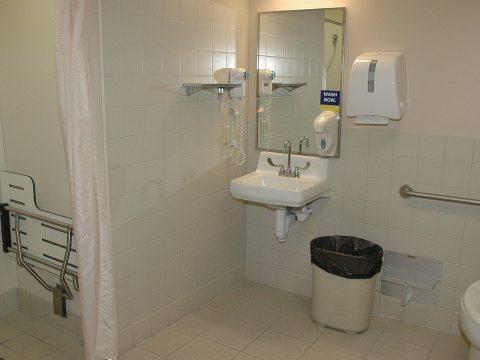 Patient Room Restroom