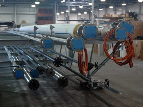 Chemical Pipe Bridge Assembly