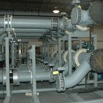 Environmental Test Booth Utility Piping
