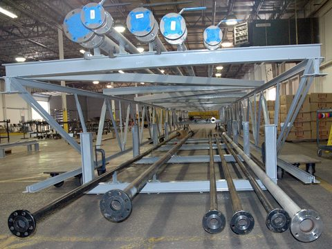Chemical Company Utility Pipe Bridge