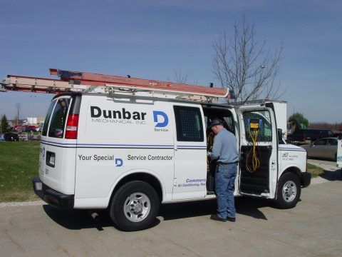 One of 45 Preventive Maintenance Service Vans