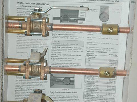 Medical Gas Control Valves