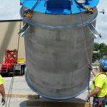 Reactor Vessel Installation