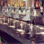 Water Fountain at Franklin Park Mall - Toledo, Ohio