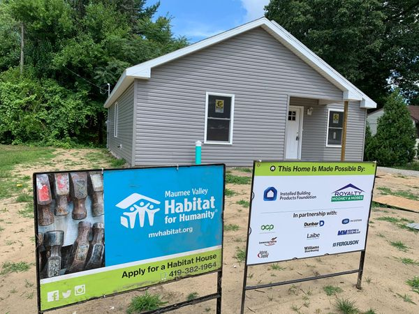 Helping to Build Maumee Valley Habitat for Humanity Homes