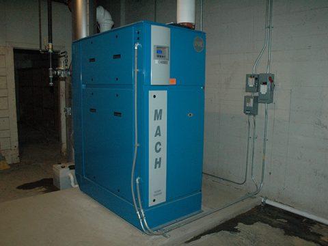 Energy-Efficient Boiler Retrofit