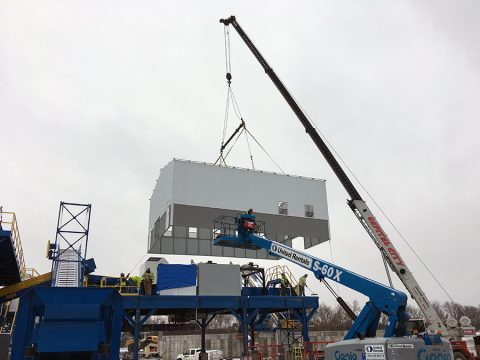 Control Building Installation