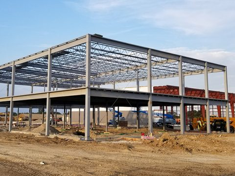 Process Facility Structural Steel