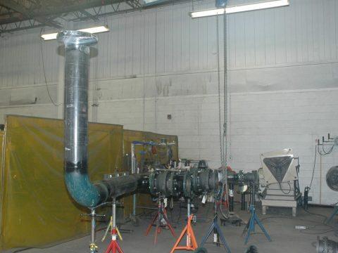 Glass Furnace Piping