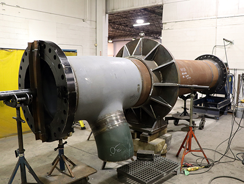 High-Pressure Steam Fabrication