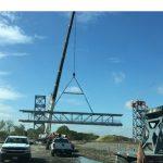 Process Pipe Bridge Erection