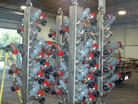 Chemical Reactor Vessel Mix Header