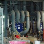 Closed Cooling Water Heat Exchanger Piping