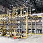 Glass Plant Piping Fabrication