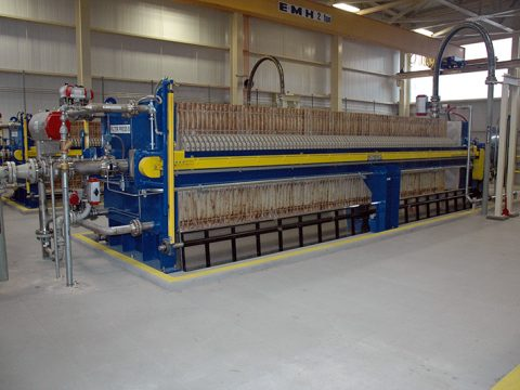 Energy Plant Waste Water Treatment
