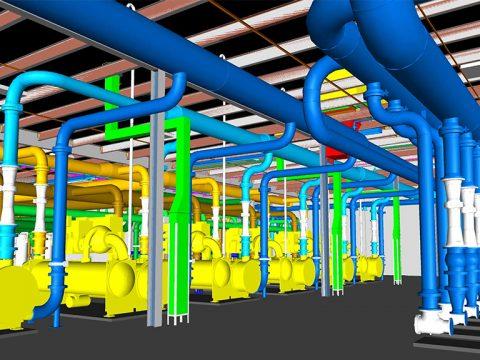 Manufacturing Central Utility Plant BIM